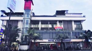 Nirmala Hotel tampak depan