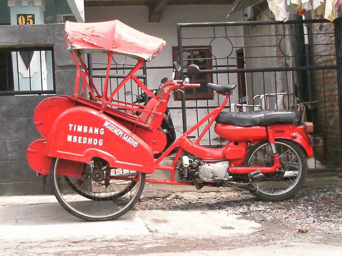 Menjamurnya becak motor di pulau Jawa – balimotorider Blog