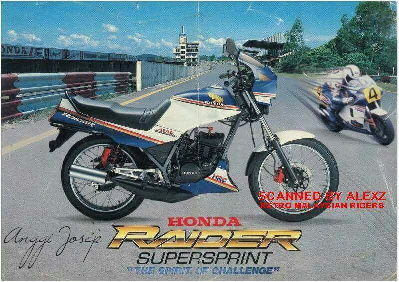 Honda Raider 135 Supersprint Idola Kawula Muda Negeri Tetangga