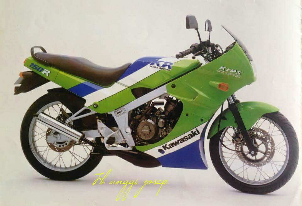Sejarah Ringkas Kawasaki Ninja Kr150r Sport 2tak Andalan Geng Ijo