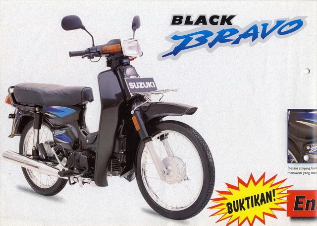 Suzuki Rc 100 Series Pesaing Berat Yamaha Alfa Series Di Era Bebek
