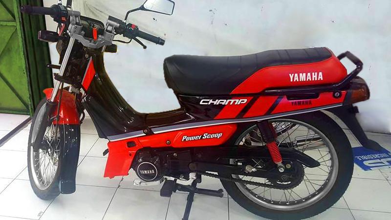Generasi Yamaha Alfa Yang Digandrungi Kawula Muda Indonesia