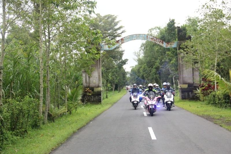 Astra Motor Bali Dan Pecinta Honda PCX150 Mengunjungi