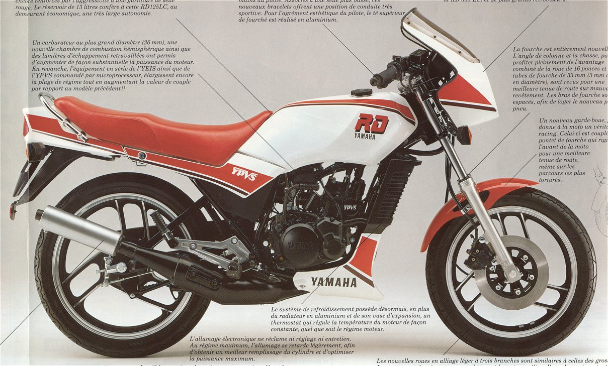 Yamaha Rd Lc Top Speed